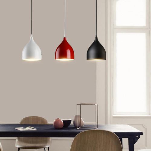 LED pendant lights Iron water drop shade from Singapore luxury lighting store Horizon-lights