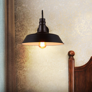 The black lampshade illustrates the mysterious and industrial feeling. When lit up, every space will full of stylish atomosphere.