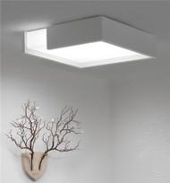 LED Ceiling lights Acrylic shade modern design WEIMA Dimmer-able LED light Singapore luxury lighting house Horizon-lights