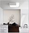 LED Ceiling lights Acrylic shade modern design WEIMA Dimmer-able LED light Singapore luxury lighting house Horizon-lights