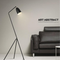 Minimalism LED Floor Lamp Metal Shade Multiple Color Study Room Living Room from Singapore best online lighting shop horizon lights occasion with sofa