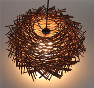 LED Pendant Lights Tree Branches Bird Nest Philips E27 light express delivery from Singapore best online lighting shop horizon lights