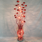 Handmade flower of Vase floor lamp fashion handmade aluminum wire floor light