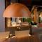 Modern Style LED Pendant Light 2PCS Half Sphere Aluminum Shade Dining Room from Singapore best online lighting shop horizon lights