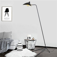 Post Modern LED Floor Lamp Metal Duckbilled Charming Decorate Bedroom from Singapore luxury light house Horizon-lights