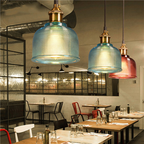 LOFT LED Pendant Lights Glass shade for home and restaurant from Singapore luxury light house Horizon-lights