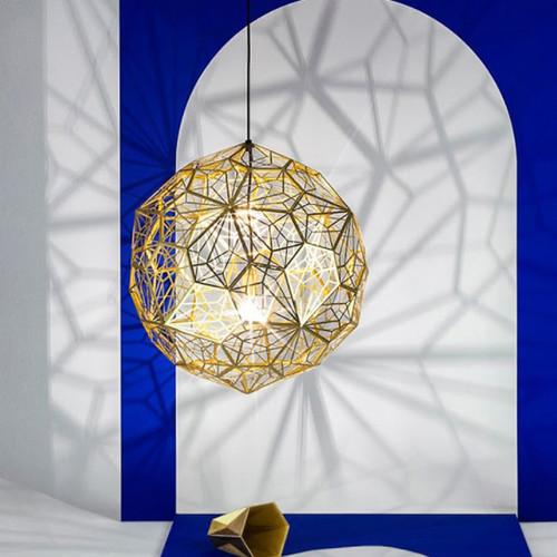 Nordic LED Pendant Lights Stainless Steel Diamond Ball Shape E27 Shops Bar from Singapore best online lighting shop horizon lights