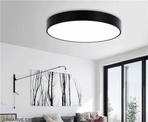 WEIMA Home Ceiling Lights acrylic shade metal case Dimmable  from Singapore luxury lighting house Horizon lights