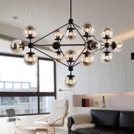 Loft Pendant lights Magic Bean glass shade LED lights from Singapore luxury light house Horizon-lights