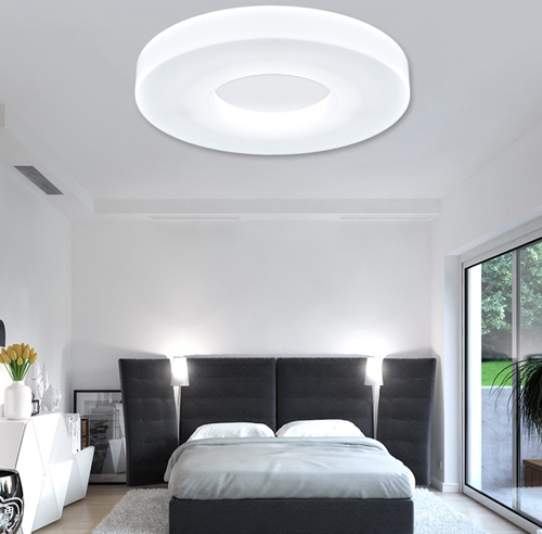 Modern Style LED Ceiling Lights Acrylic Round shade Bedroom Living Room from Singapore best online lighting shop horizon lights