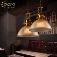 Retro Pendant Lights Glass Shade Bronze hanger cafe and restaurants from Singapore luxury online lights shop horizon lights