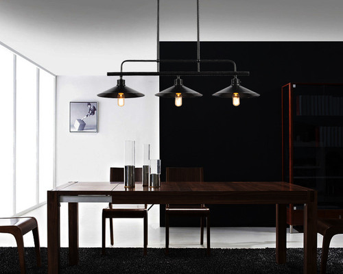 Industrial Style LED Pendant Lights Metal Frame Decorate Loft Bar Dining Room from Singapore best online lighting shop horizon lights