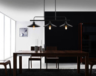 Nordic Retro Industrial Style LED Pendant Lights Metal Frame E27 Decorate Loft Bar Dining Room from Singapore best online lighting shop horizon lights