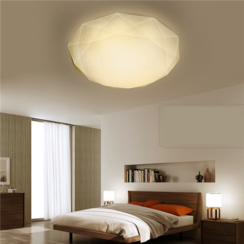 Simple Modern LED Ceiling Lights Diamond Milky-way Metal Acrylic Shade Bedroom Living Room from Singapore best online lighting shop horizon lights