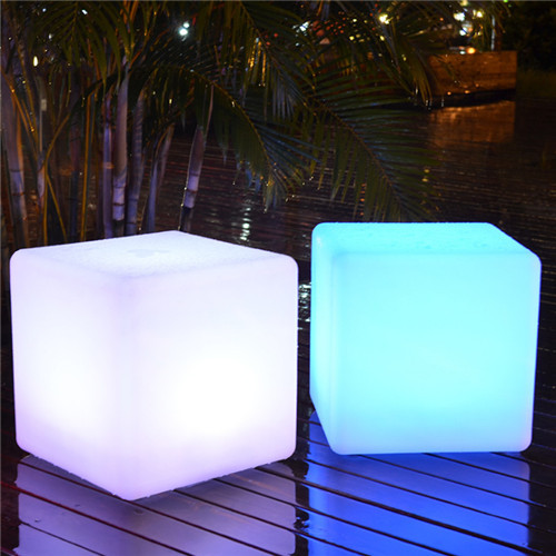 LED PE stool waterproof IP68 Remote control from Singapore luxury light shop horizon lights