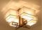 Ceiling LED light with elegant design