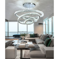 This is the front drawing. Halo infinite, Crystal Pendant light for Modern and Art Deco from Singapore best online lighting shop for pendant lamp, horizon lights