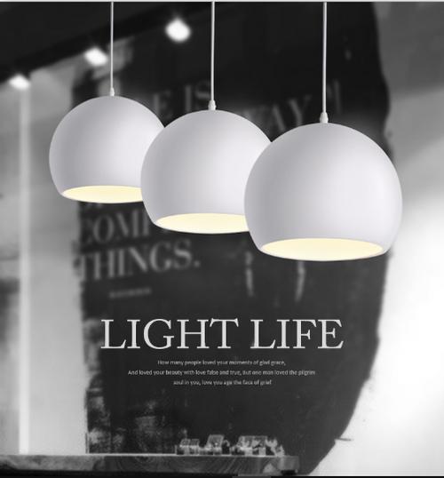 round aluminum pendant from Singapore online luxury lighting shop horizon lights.