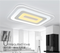 Morden Design Retangle Super Slim Arcylic Ceiling Light (23099)