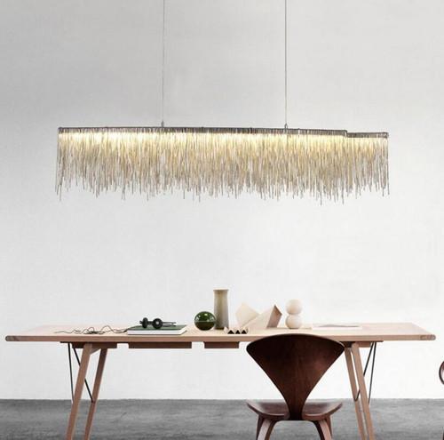 LED chandelier  Tassel Chain Modern contemporary design from Singapore best online lighting shop horizon lights