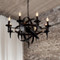 LED Chandelier Light Candlestick Iron American Retro Free Sea Shipping from Singapore best online lighting shop horizon lights