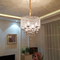 Metal Cage Crystal LED Chandelier Light European Style Dining Room from Singapore best online lighting shop horizon lights