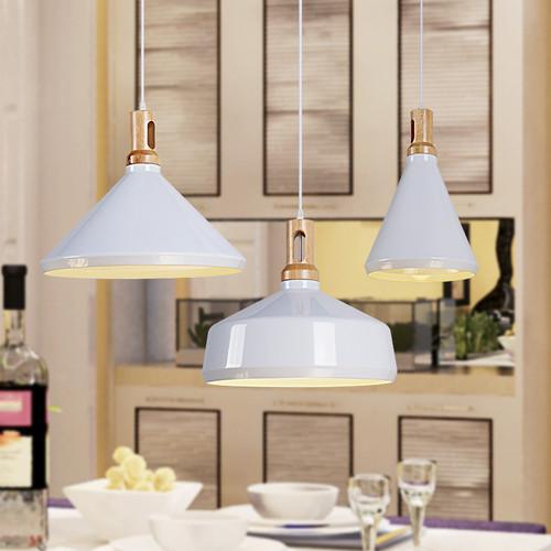 Pendent Light Philips LED Bulbs E27 White Aluminum shade from Singapore best online lighting shop horizon lights