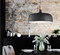 Black Acorn Pendant Light Wood Aluminum Shade Modern Nordic from Singapore best online lighting shop horizon lights
