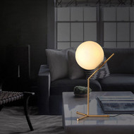 Glass Ball LED Table Lamps Philips LED Bulb Postmodern Inspired by Flos from Singapore best online lighting shop horizon lights