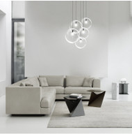 Hanging  Lights Clear Glass Ball Shade  from Singapore best online lighting shop horizon lights