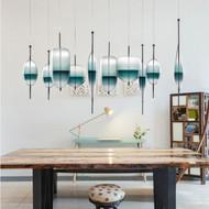 Venice Blue glass Pendant Light  Italian Design from Singapore best online lighting shop horizon lights