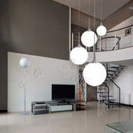 Pendant Light Variation from Artemide Castore Suspension light Modern style from Singapore best online lighting shop horizon lights