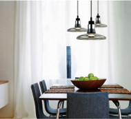 Glass Pendant Light LED bulb Shadows Light Brokis Modern Style from Singapore best online lighting shop horizon lights