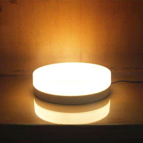 Modern LED Ceiling Light Round Glass Shade Wood Light Bedroom Decor from Singapore best online lighting shop horizon lights