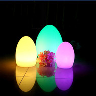 LED Table Lamp Egg Shape Modern Style from Singapore best online lighting shop horizon lights