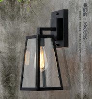 Loft Wall Lamp Glass Shade Retro Style from Singapore best online lighting shop horizon lights
