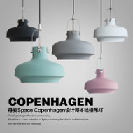 Pendant Light Philips LED Bulb Aluminum Shade Danish Style Space Copenhage Design from Singapore best online lighting shop horizon lights