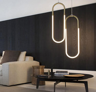 LED Pendant light Glass Tube Shade Modified Roll & Hill Rudi from Singapore best online lighting shop horizon lights