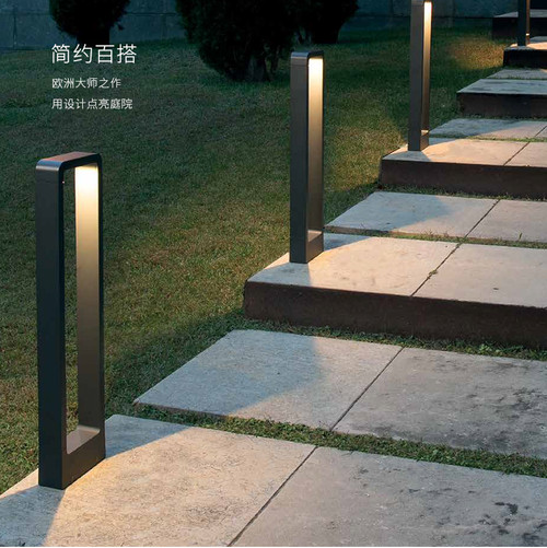 This is the scene picture. Landscape light Garden lighting LED Aluminum Shade Waterproof Outdoor Modern Minimalism from Singapore best online lighting shop horizon lights
