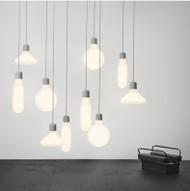 Pendant Light Philips LED E27 Bulb Glass Bottle Shade Post-modern Style from Singapore best online lighting shop horizon lights