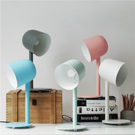 This is the scene picture. Modern LED Table Lamp Colourful Metal Lamp Bedside Study Room Lamp from Singapore best online lighting shop horizon lights