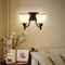 LED Wall Light Philips E27 Bulb Milk Glass Shade American Style from Singapore best online lighting shop horizon lights