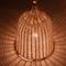 Modern Style LED Pendant Light Rattan Hand Made Woven Shade Light  Dining  Room from Singapore best online lighting shop horizon lights