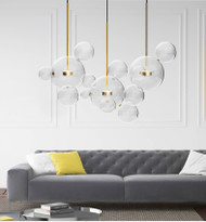 LED Pendant Light Glass Ball Shade Modern Italy Style Modified GIOPATO&COOMBES from Singapore best online lighting shop horizon lights