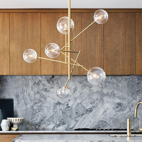 Glass Ball Molecules Pendant Light  Magic Beans Post-modern Style from Singapore best online lighting shop horizon lights