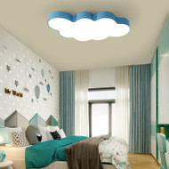 Modern Style LED Ceiling Light Metal Cartoon Cloud Shape Kids' Room Decoration from Singapore best online lighting shop horizon lights
