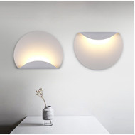 LED Acrylic Wall Light Semicircle Shape Wall Mounted Modern Style from Singapore best online lighting shop horizon lights