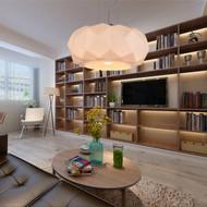 Modern Style LED Pendant Light Glass Diamond Surface Shade Living Room Bedroom from Singapore best online lighting shop horizon lights
