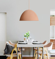 LED Hanging Light Resin Bell Shade Modified Muuto Modern Style from Singapore best online lighting shop horizon lights