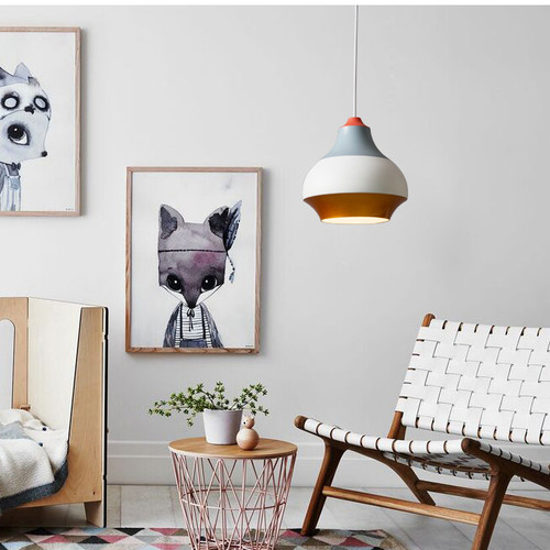 Modern Style LED Pendant Light Cirque Cute and Colorful Shade Dining Room from Singapore best online lighting shop horizon lights